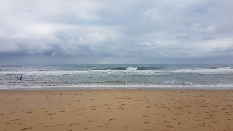 Surf report Hossegor - La Gravière - France (40) 2018-08-08 09:00:00