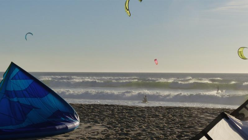 Wind report Biscarrosse Plage - France (40) 2018-09-15 16:00:00