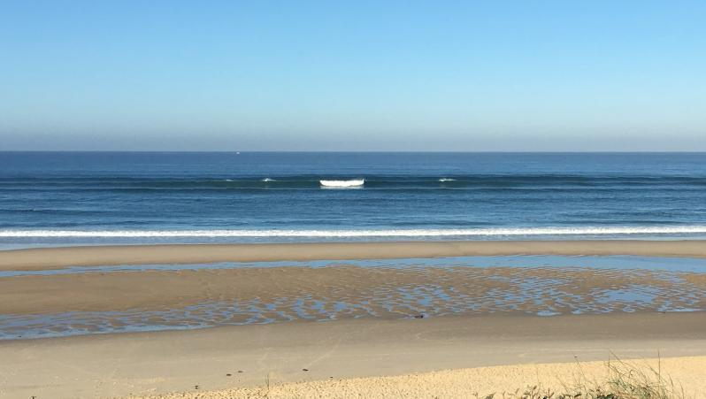 Surf report Biscarrosse Plage - France (40) 2018-10-24 10:00:00