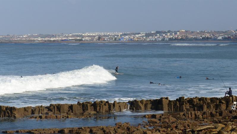 Surf report La Bobine - Maroc (MA) 2018-11-04 17:00:00