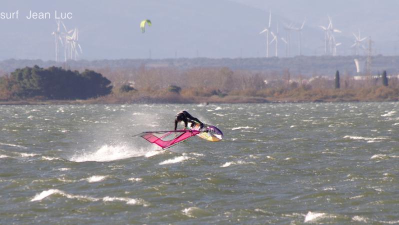 wind report Le Barcarès - Cap Coudalère  - France (66) 2018-12-17 16:00:00