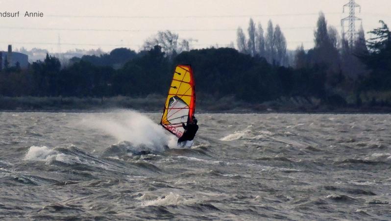 wind report Le Barcarès - Cap Coudalère  - France (66) 2019-01-09 16:00:00