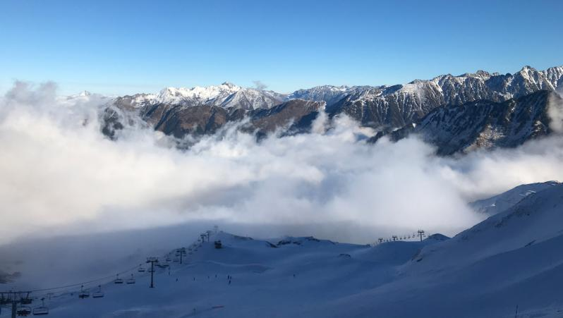 Snow report Cauterets - France (65) 2019-01-09 16:00:00