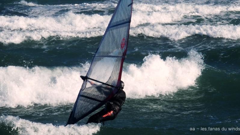 Wind report Le Barcarès - l'Embouchure Agly - France (66) 2019-01-17 16:00:00