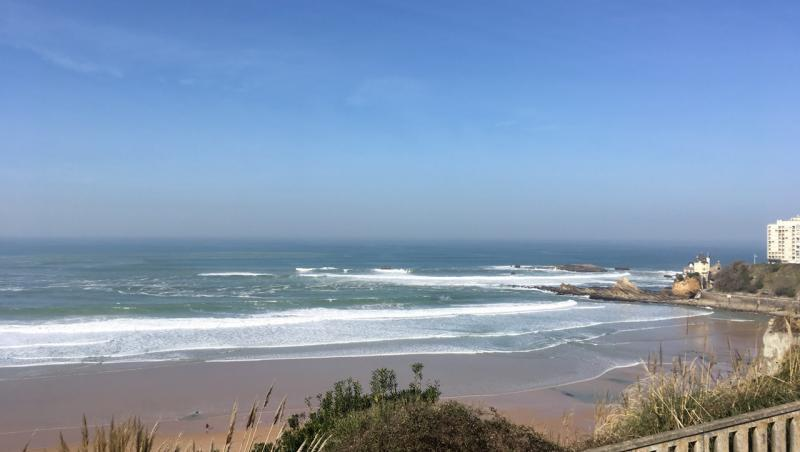 Surf report Côte des Basques - France (64) 2019-02-22 13:00:00