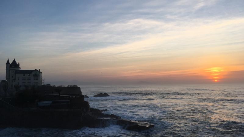Surf report Biarritz - Grande Plage - France (64) 2019-02-22 19:00:00