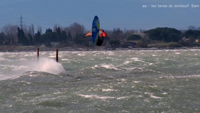 Wind report Le Barcarès - Cap Coudalère  - France (66) 2019-03-02 17:00:00