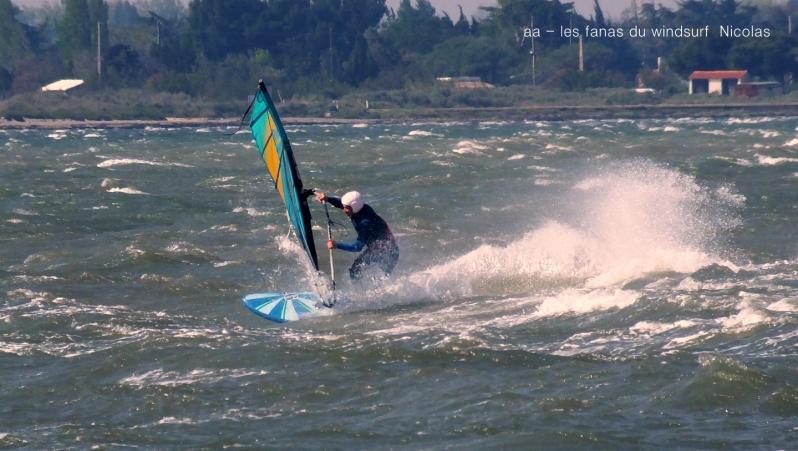 Wind report Le Barcarès - Cap Coudalère  - France (66) 2019-04-12 16:00:00