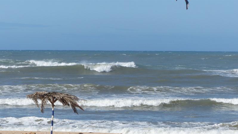 Wind report Oued Merzeg - Maroc (MA) 2019-04-24 17:00:00