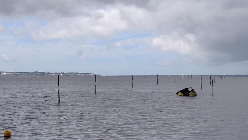 Wind report Andernos - Le Betey - France (33) 2019-04-25 10:00:00