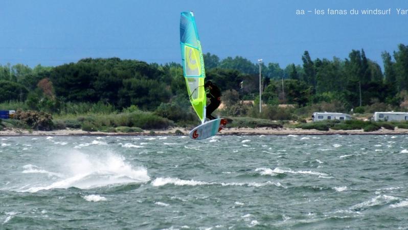 Wind report Le Barcarès - Cap Coudalère  - France (66) 2019-05-25 17:00:00