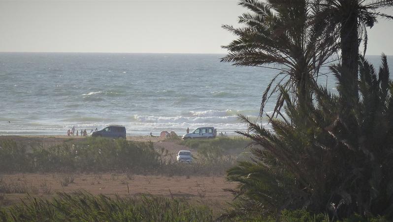 Wind report MA, Oued Merzeg (MA) posté par xavier