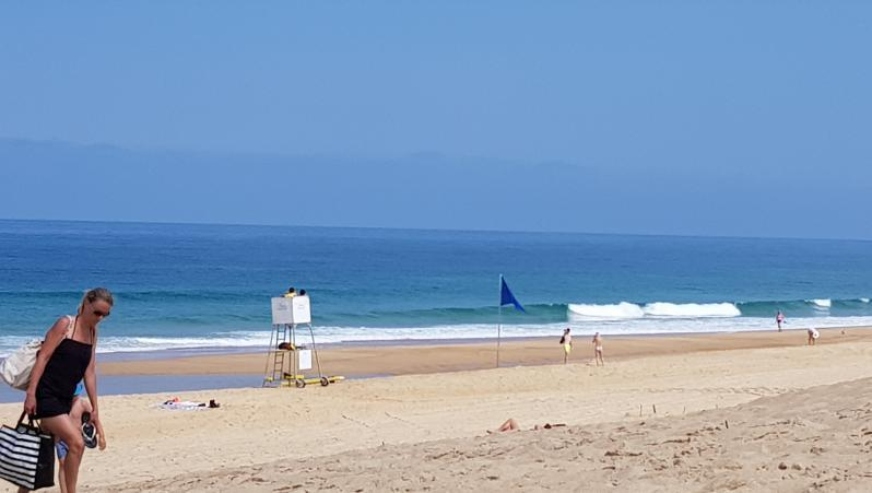 Surf report Hossegor - La Gravière - France (40) 2019-07-08 13:00:00