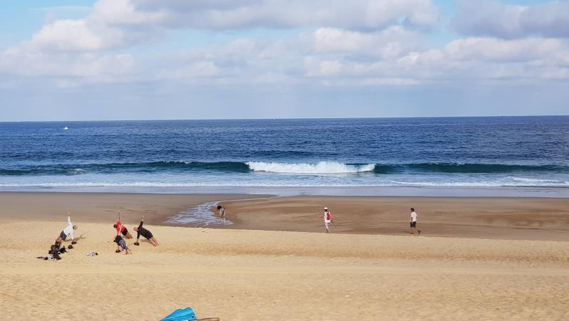 Surf report Hossegor - La Gravière - France (40) 2019-07-16 09:00:00