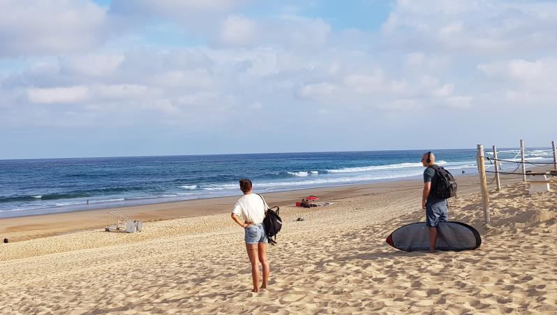 Surf report Hossegor - La Gravière - France (40) 2019-07-16 09:00:00