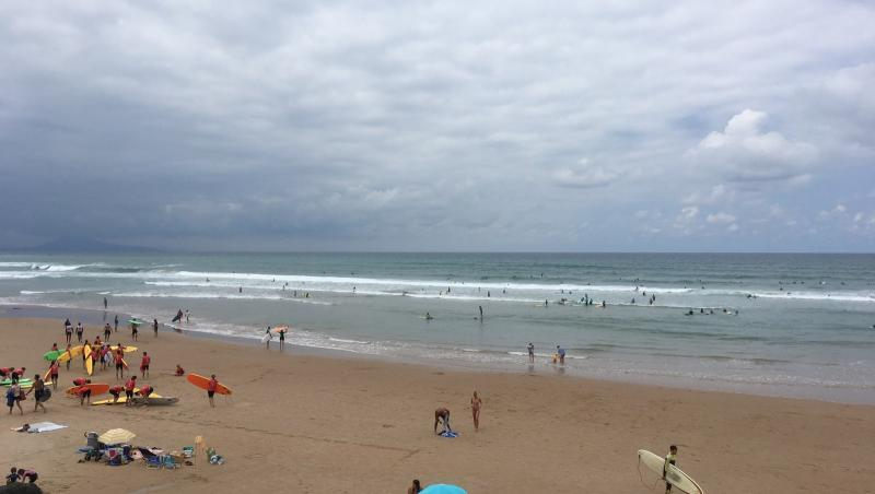 Surf report Côte des Basques - France (64) 2019-07-17 13:00:00
