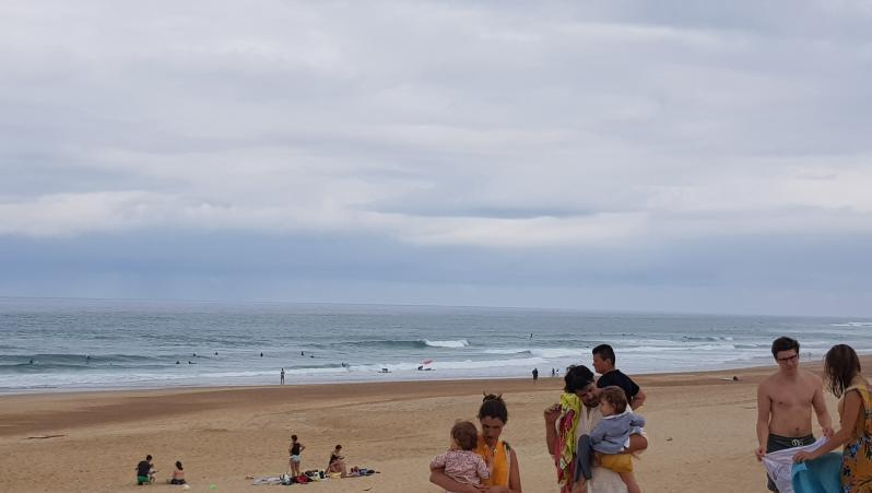 Surf report Hossegor - La Gravière - France (40) 2019-07-20 11:00:00