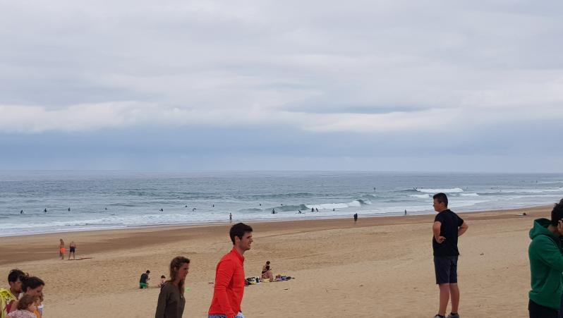 Surf report Hossegor - La Gravière - France (40) 2019-07-20 11:00:00