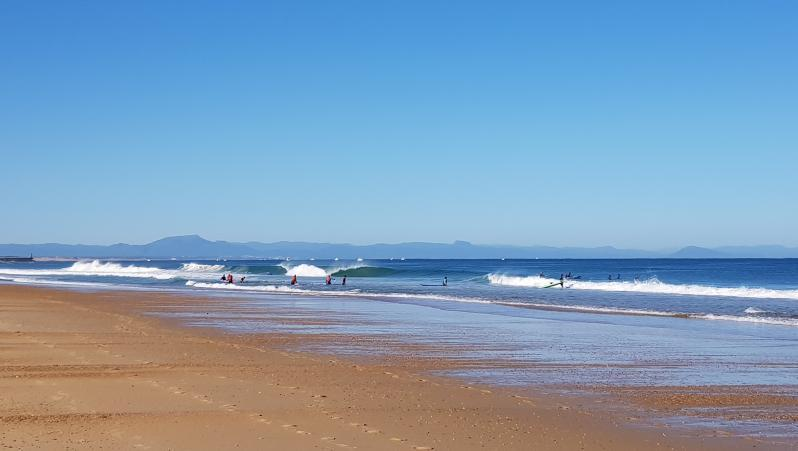 Surf report Hossegor - La Gravière - France (40) 2019-07-29 09:00:00