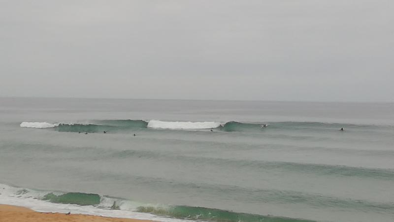 Surf report Vieux Boucau - France (40) 2019-08-06 09:00:00