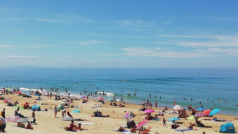 Surf report Vieux Boucau - France (40) 2019-08-08 14:00:00