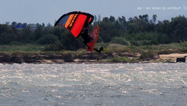 Wind report Le Barcarès - Cap Coudalère  - France (66) 2019-08-12 17:00:00