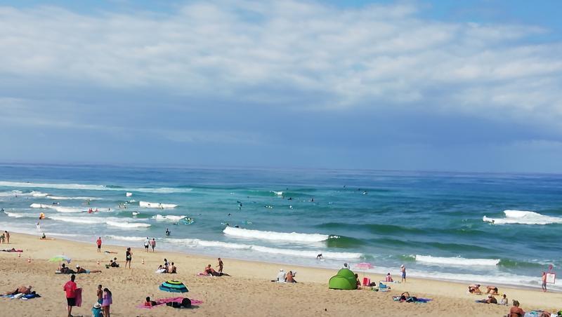 Surf report Vieux Boucau - France (40) 2019-08-13 13:00:00