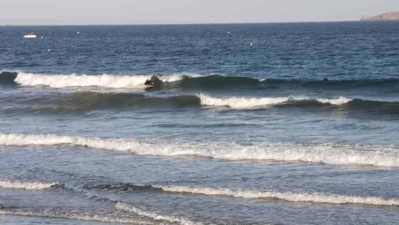 Surf report FR, Saint-Malo - Le Sillon (35) posté par anonyme