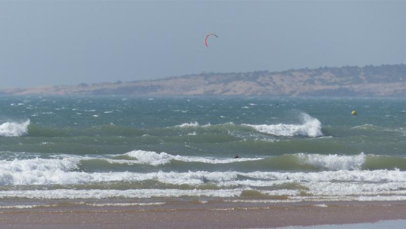 Wind report Sidi Kaouki - L'Oued - Maroc (MA) 2019-08-17 16:00:00