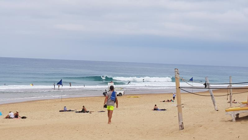 Surf report Hossegor - La Gravière - France (40) 2019-08-25 13:00:00