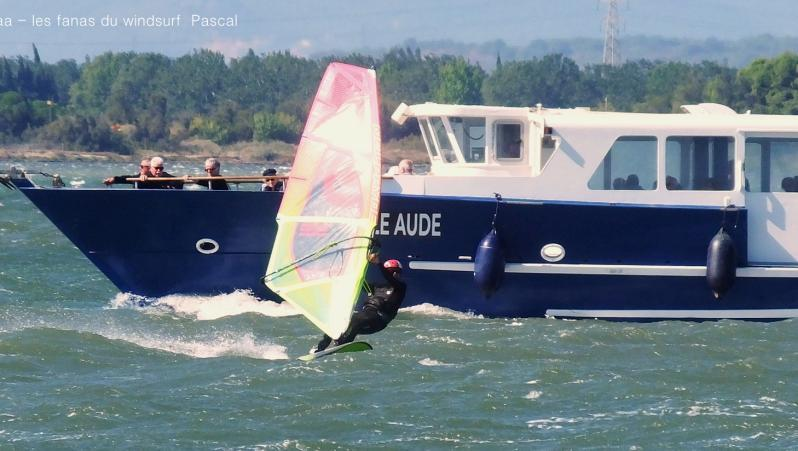 Wind report Le Barcarès - Cap Coudalère  - France (66) 2019-09-06 17:00:00