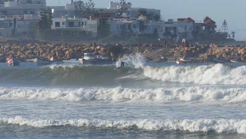 Surf report Petit Port Dar Bouazza - Maroc (MA) 2019-10-18 17:00:00