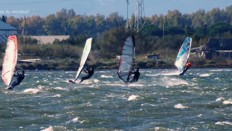 Wind report Le Barcarès - Cap Coudalère  - France (66) 2019-11-06 16:00:00