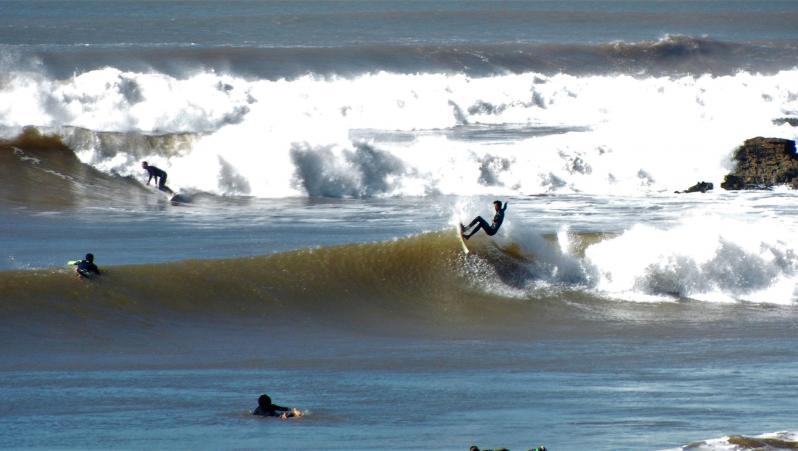 Surf report MA, Sidi Kaouki - La Grotte (MA) posté par xavier