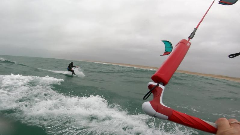 Wind report Le Grand Crohot - France (33) 2019-12-08 11:00:00