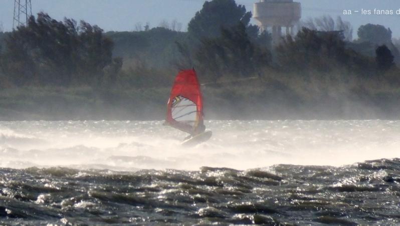 Wind report Le Barcarès - Cap Coudalère  - France (66) 2019-12-22 16:00:00
