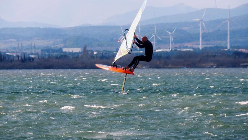 Wind report Le Barcarès - Cap Coudalère  - France (66) 2020-01-04 18:00:00