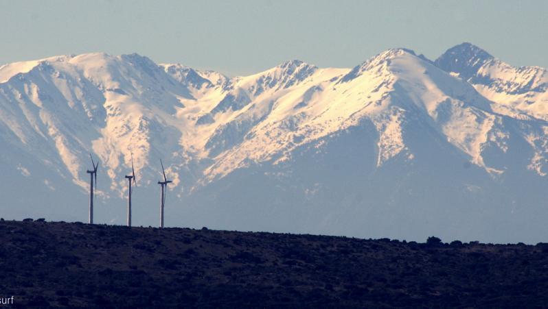 Wind report Leucate - Les Coussoules - France (11) 2020-02-21 16:00:00