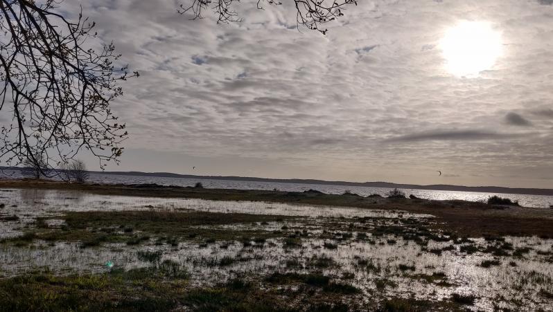 Wind report Lacanau Lac - France (33) 2020-03-14 15:00:00
