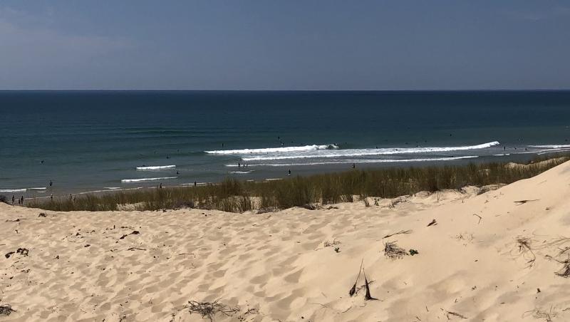 Surf report Le Porge - France (33) 2020-05-31 15:00:00