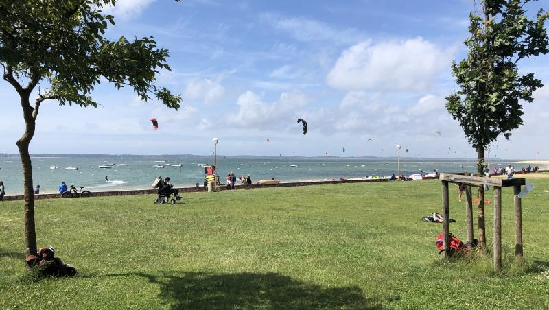 Wind report Arcachon - Les Arbousiers - France (33) 2020-06-13 14:00:00