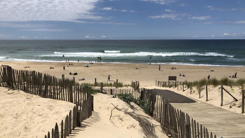 Surf report Le Porge - France (33) 2020-06-19 16:00:00
