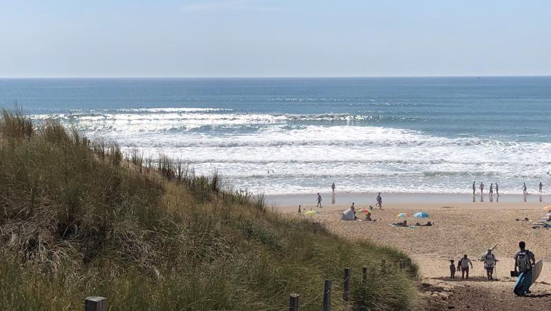 Surf report Le Porge - France (33) 2020-06-24 18:00:00