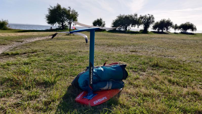 Wind report Taussat - Club Nautique - France (33) 2020-06-22 17:00:00