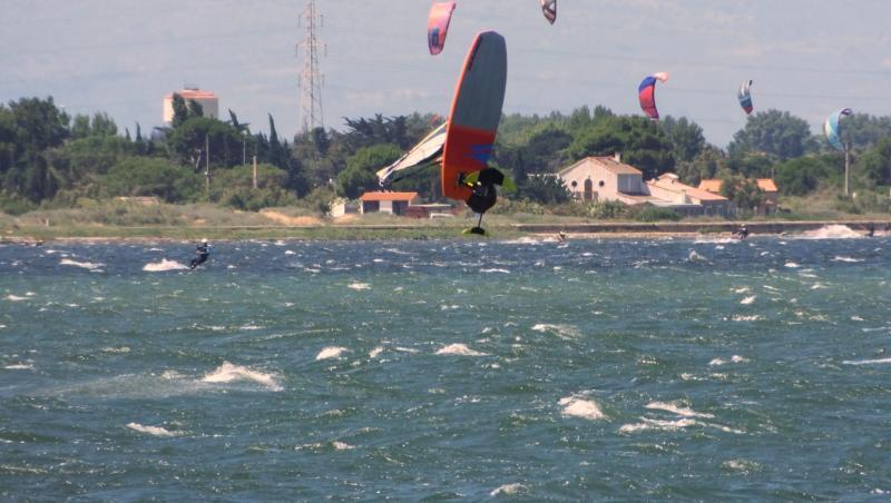 Wind report Le Barcarès - Cap Coudalère  - France (66) 2020-07-04 17:00:00