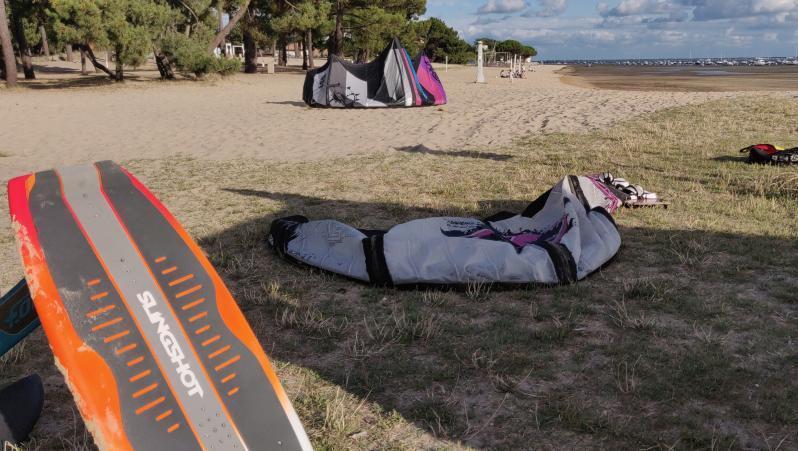 Wind report Andernos - Le Betey - France (33) 2020-07-02 18:00:00