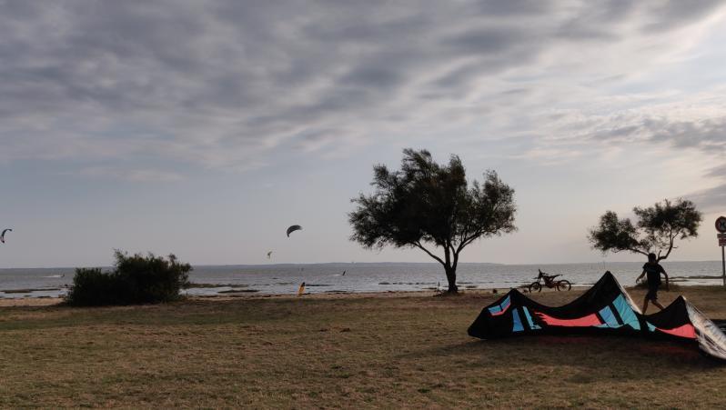 Wind report Taussat - Club Nautique - France (33) 2020-07-20 17:00:00