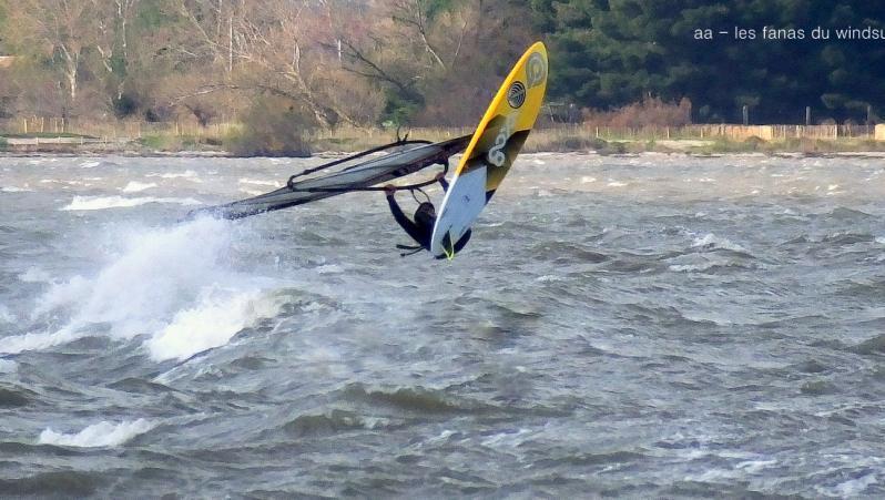 Wind report FR, Le Barcarès - Cap Coudalère  (66) posté par annie