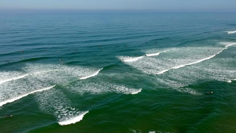 Surf report Le Grand Crohot - France (33) 2020-08-09 10:00:00