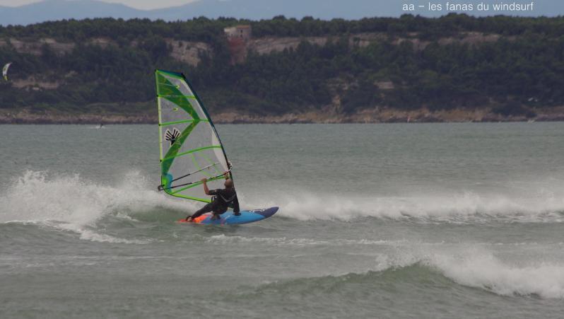 Wind report Leucate - Les Coussoules - France (11) 2020-08-22 14:00:00